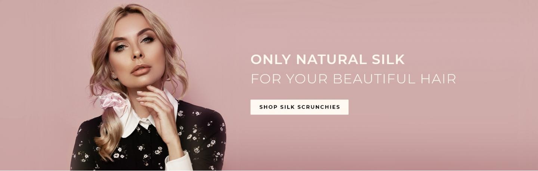 Mulberry silk scrunchies - 2