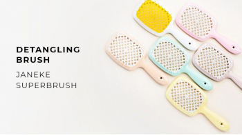 2021 Best Detangling Brush Janeke SuperBrush. A Hot Thing!