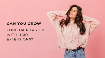 Can You Grow Long Hair Faster with Hair Extensions?