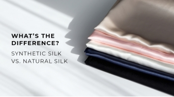 Synthetic Silk vs. Natural Silk: What's the Difference?