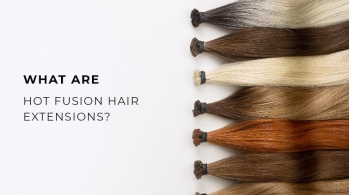 What are hot fusion hair extensions?
