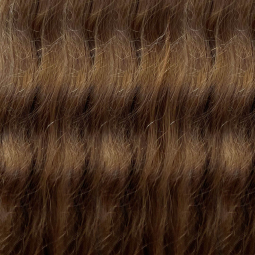 Brown #8 Remy Wavy Hair