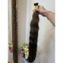 Brown #7 European Remy Wavy Hair