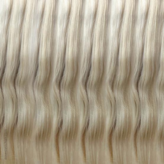Cold Blonde #60 European Remy Hair