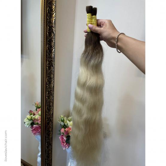 Ombre European Remy Wavy Hair
