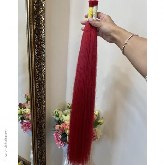 Rasberry Red European Remy Hair