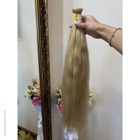 Warm Blonde #613 European Remy Hair