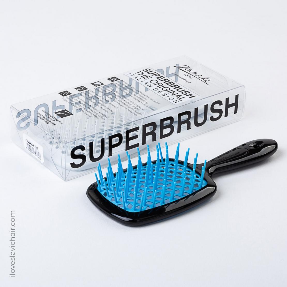 Janeke Superbrush Black & Blue