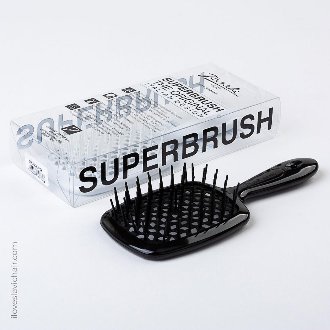 Carbon Fiber Janeke Superbrush Black