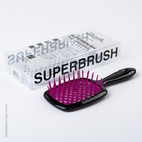 Janeke Superbrush Black & Magenta