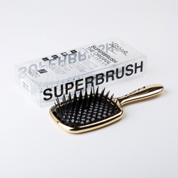Janeke Superbrush Gold/Black