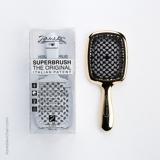 Janeke Superbrush Gold & Black Limited Edition
