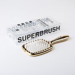 Janeke Superbrush Gold/White