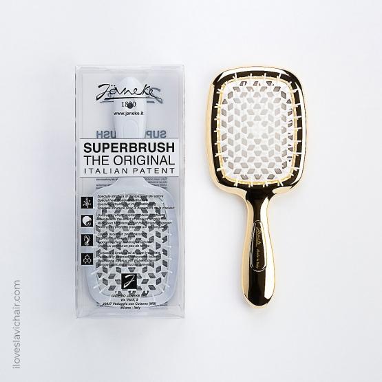 Janeke Superbrush Gold & White Limited Edition