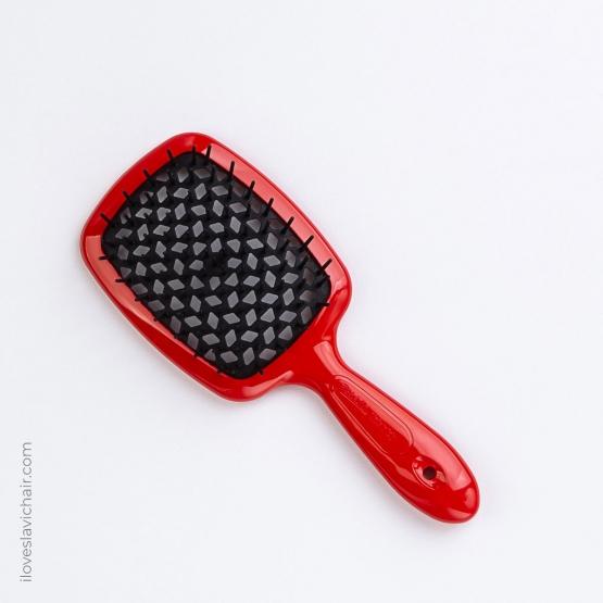 Janeke Superbrush Red & Black