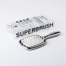 Janeke Superbrush Silver/White