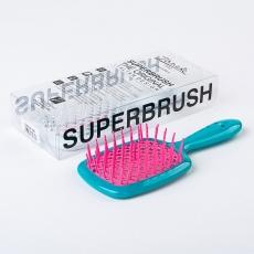 Janeke Superbrush Teal/Pink
