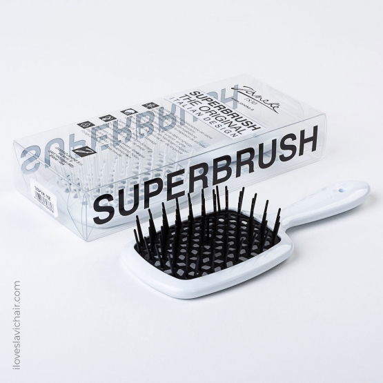 Janeke Superbrush White & Black