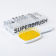 Janeke Superbrush White/Yellow
