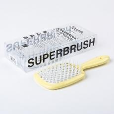Janeke Superbrush Yellow/White