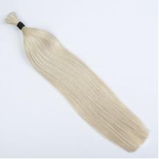 Platinum Blonde Hand-tied Weft Hair Extensions