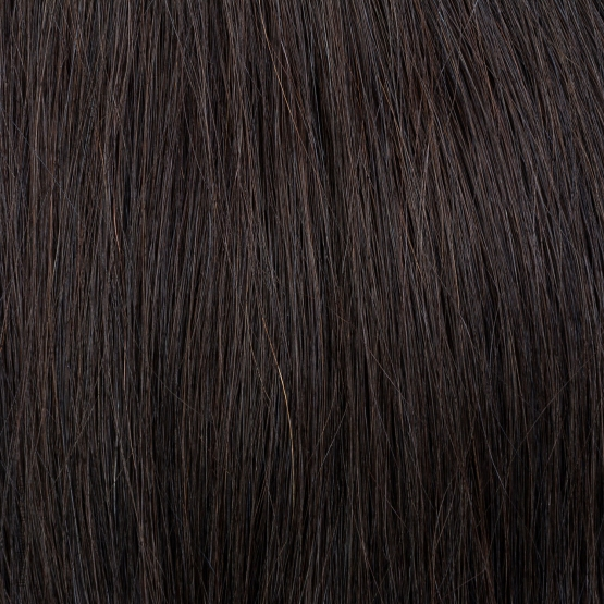 Dark Brown #2 Russian Hand-tied Weft Hair Extensions