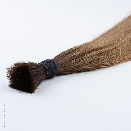 Golden Brown #12 & Dark Brown Russian Hair