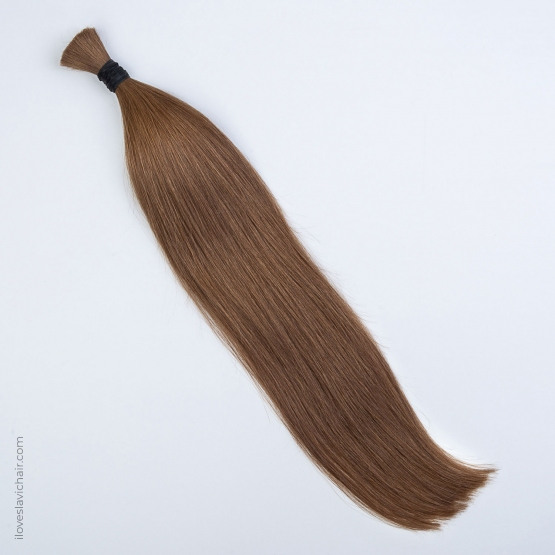 Caramel #8 Russian Hand-tied Weft Hair Extensions