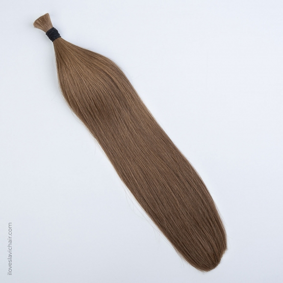 Golden Brown #12 Russian Hand-tied Weft Hair Extensions