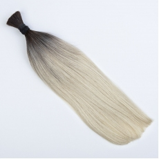 Ombre Blonde #60 Hand-tied Weft Hair Extensions