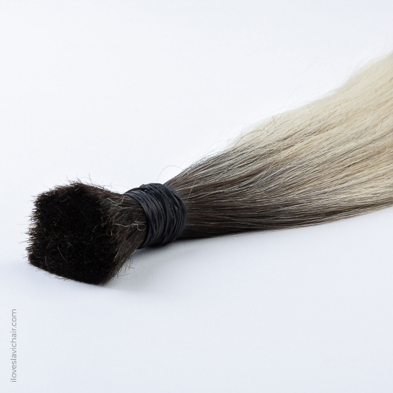 Ombre Blonde #60 & Dark Brown Russian Hair