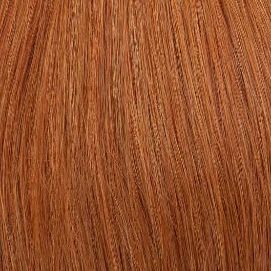 Red Copper #130 Russian Hand-tied Weft Hair Extensions