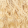 Cold Blonde #60 Russian Wavy Hand-tied Weft Hair Extensions