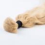 Warm Blonde #613 Russian Wavy Hair