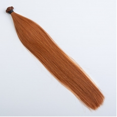 Red Copper #130 Fusion Hair Extensions