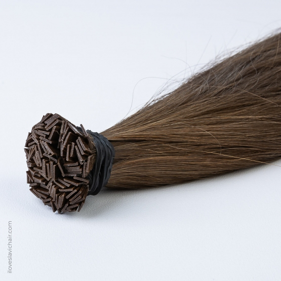 Brown #3 Russian Fusion Hair Extensions