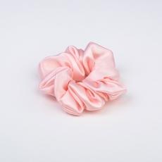 Large Silk Scrunchie Pink
