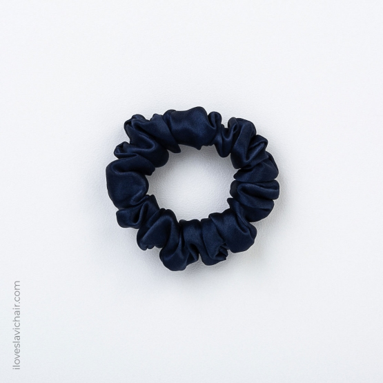 3 Pack Small Mulberry Silk Scrunchie Set #2