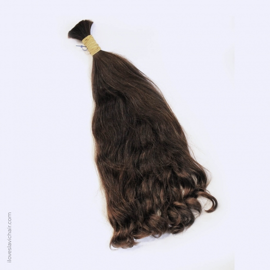 Virgin Slavic Hair Bundle, Color #5, 18″-45cm, 114 grams
