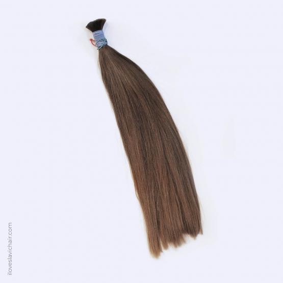 Virgin Slavic Hair Bundle, Color #7, 20″-50cm, 130 grams