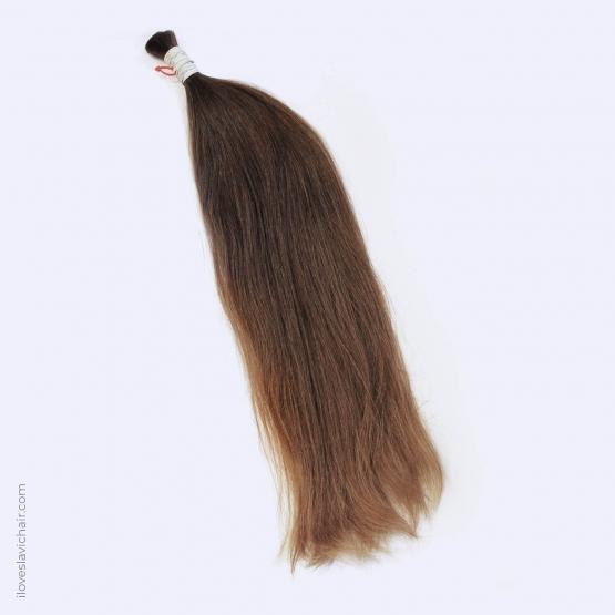 Virgin Slavic Hair Bundle, Color #7-8, 24″-60cm, 139 grams