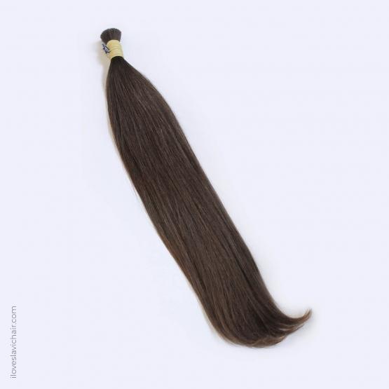 Virgin Slavic Hair Bundle, Color #6-7, 24″-60cm, 174 grams