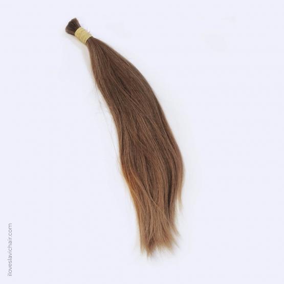 Virgin Slavic Hair Bundle, Color #8, 22″-56cm, 151 grams