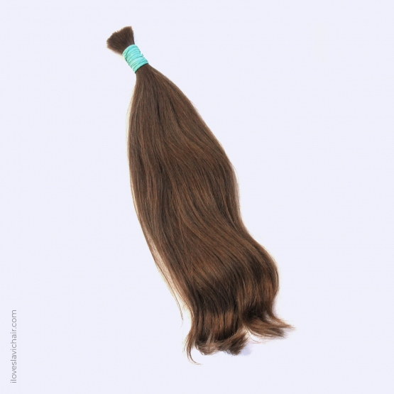 Virgin Slavic Hair Bundle, Color #6, 18″-45cm, 117 grams