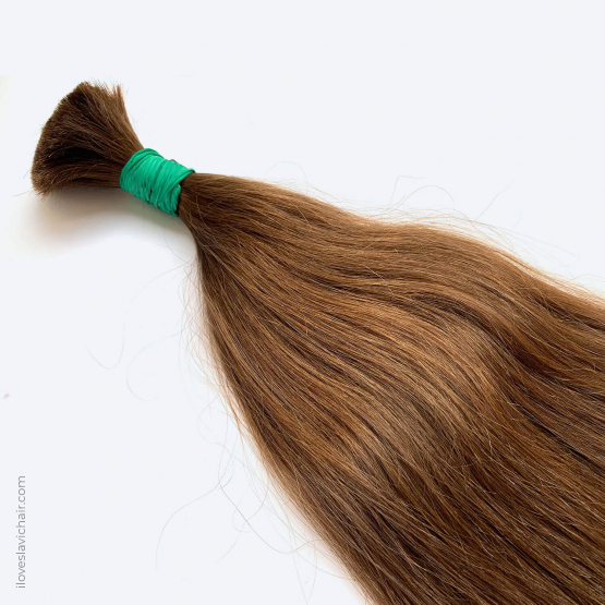 Virgin Slavic Hair Bundle, Color #7, 30″-75cm, 152 grams