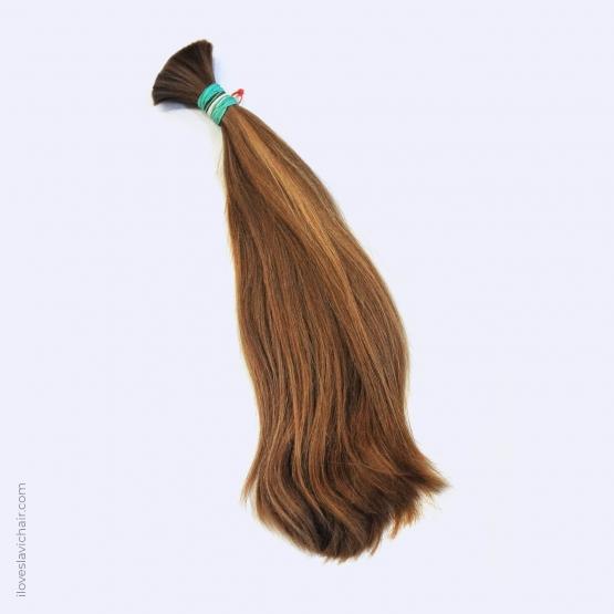 Virgin Slavic Hair Bundle, Color #8, 18″-45cm, 150 grams