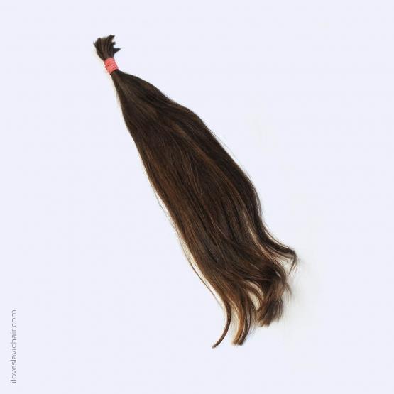 Virgin Slavic Hair Bundle, Color #5, 22″-55cm, 77 grams