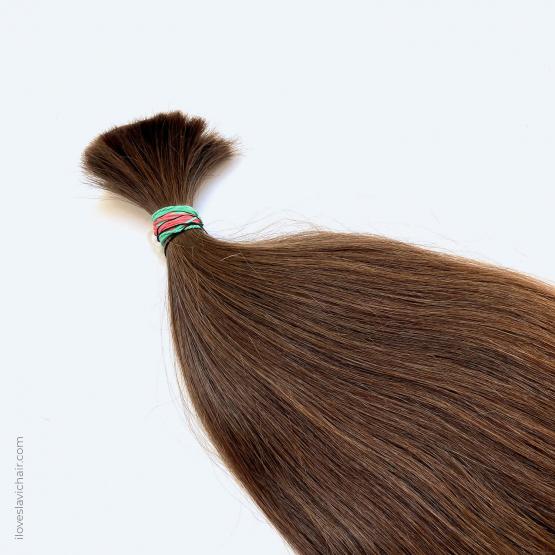 Virgin Slavic Hair Bundle, Color #7, 25″-63cm, 149 grams