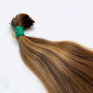 Virgin Slavic Hair Bundle, Color #7-8, 16″-40cm, 80 grams