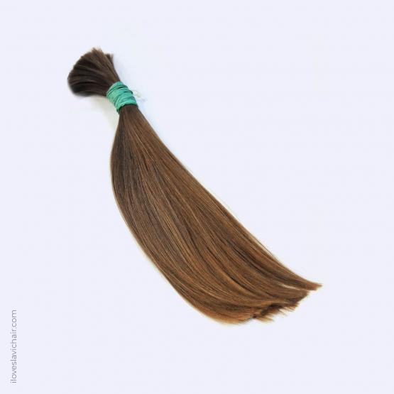 Virgin Slavic Hair Bundle, Color #8, 15.4″-39cm, 128 grams